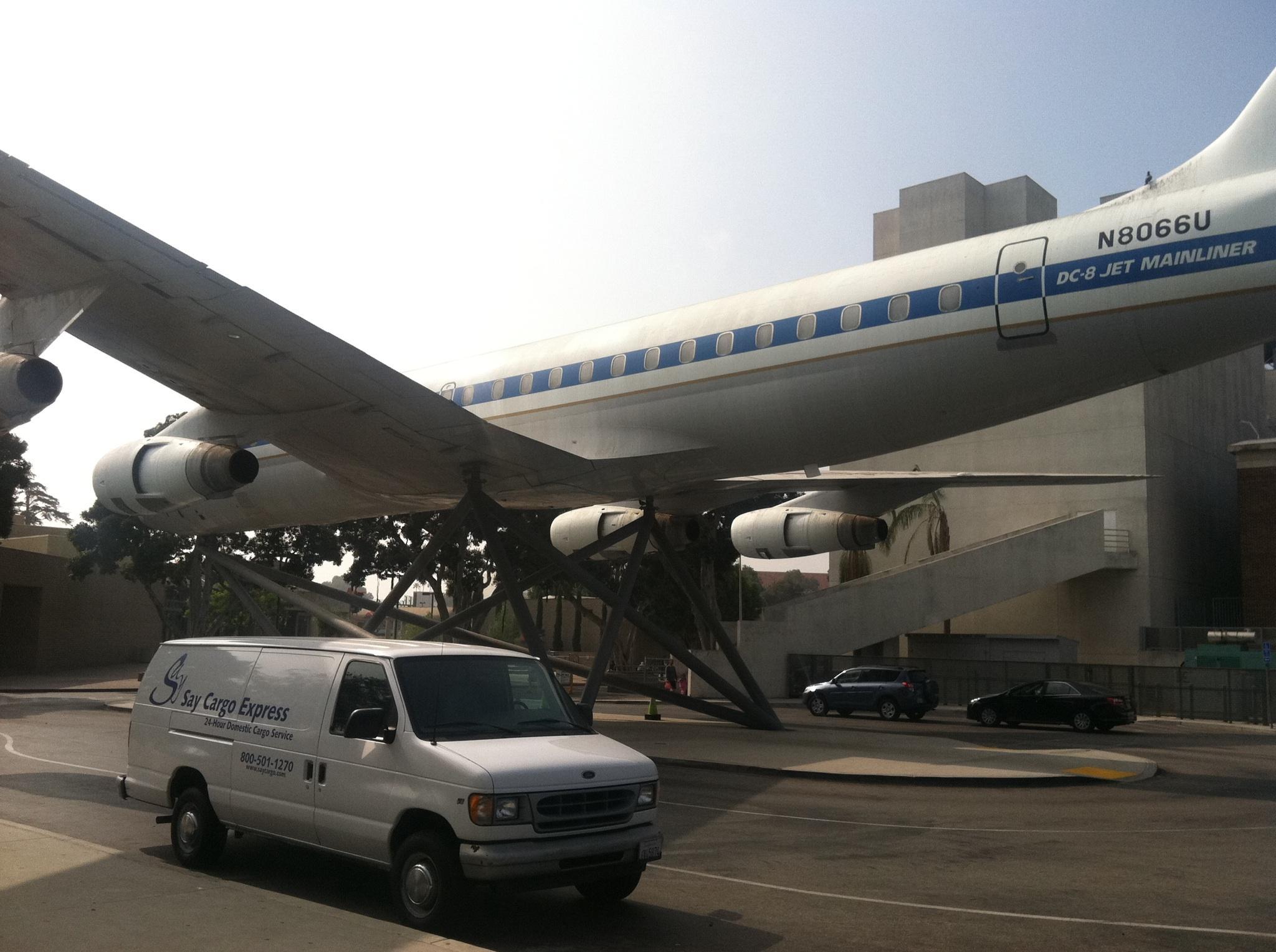 Say Cargo Express Van at California Science Center